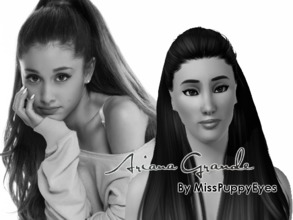Sims 3 — Ariana Grande  by MissPuppyEyes — Ariana Grande-Butera, known professionally as Ariana Grande, is an American