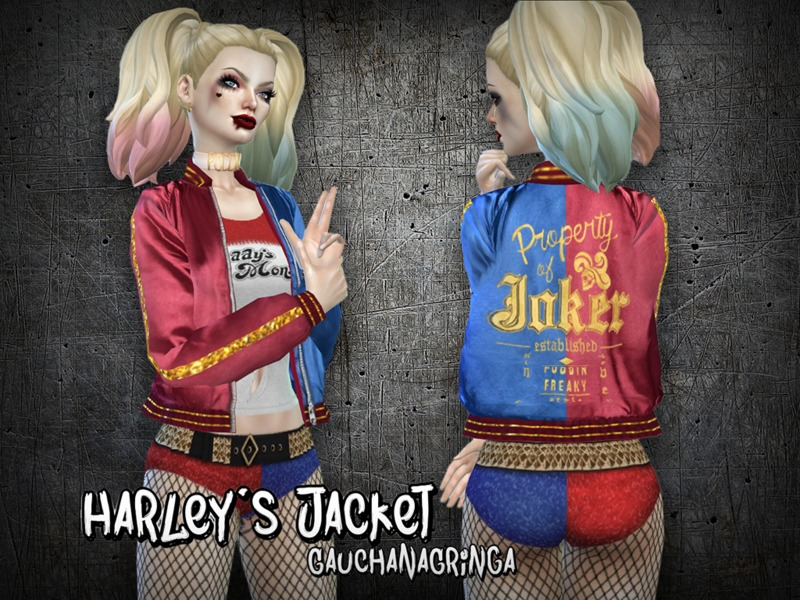 gauchanagringa s harley quinn s jacket ss 2016 mesh needed