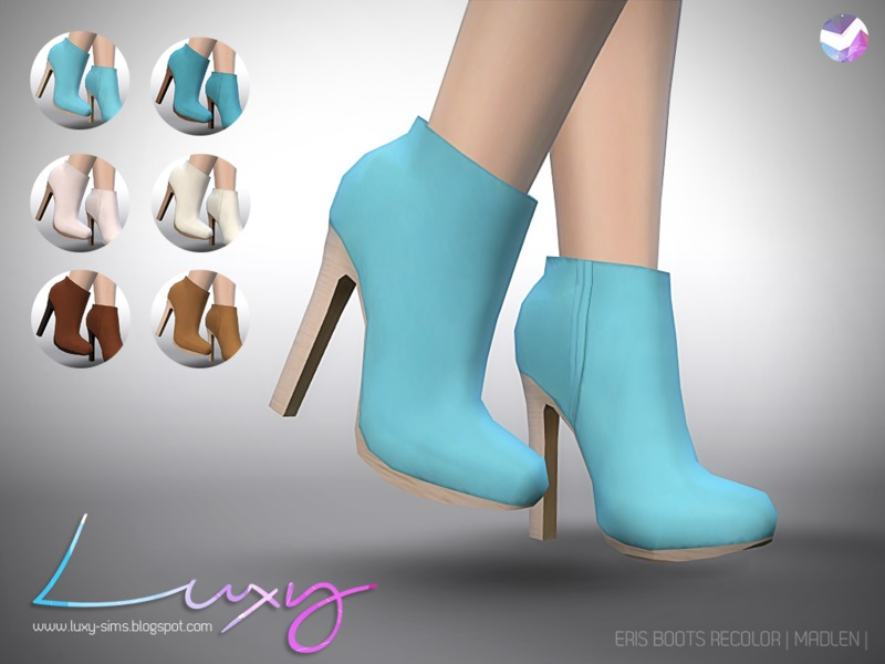 LuxySims3's Eris Boots [RECOLOR] - mesh needed