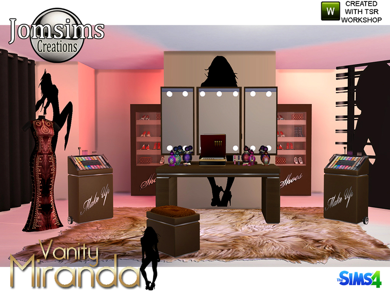 Jomsims Miranda Vanity Beauty Set