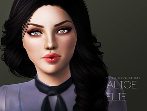 Sims 3 — Alice Elie by Pralinesims — Alice Elie is another one of our older models (previously available at our blog),