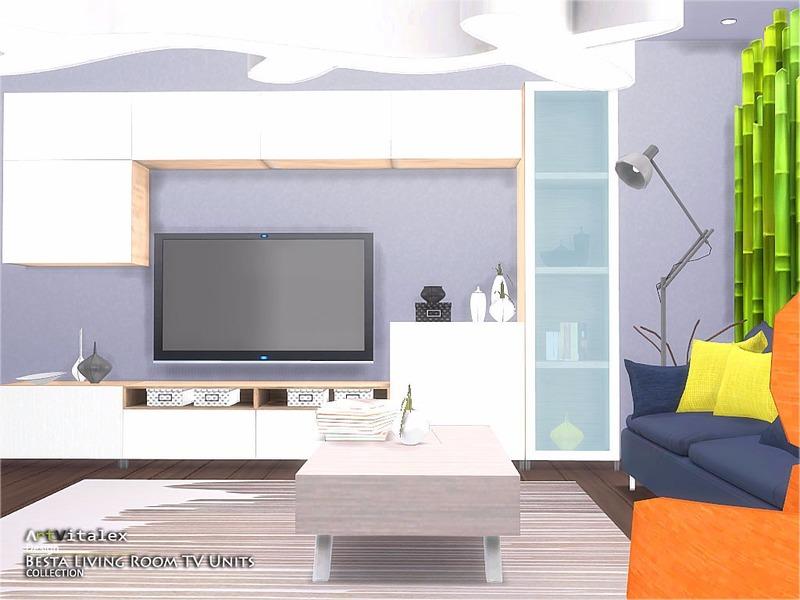 ArtVitalexs Ikea Inspired Besta Living Room TV Units