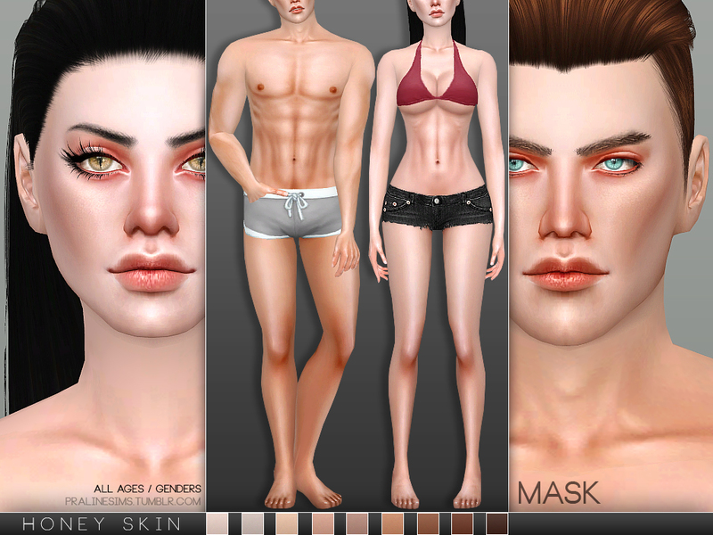 Pralinesims' PS Honey Skin MASK