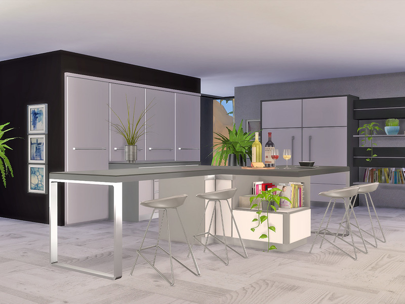 Ung999 39 S Black White Kitchen Counter Island