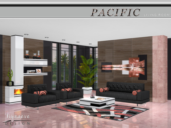NynaeveDesign's Pacific Heights Living Room