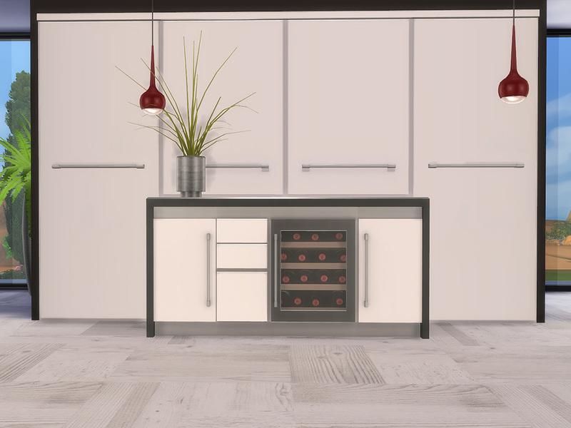 Ung999's Black White Kitchen