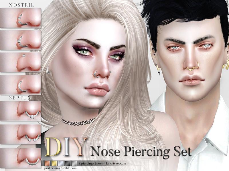 Pralinesims' DIY Nose Piercing Set