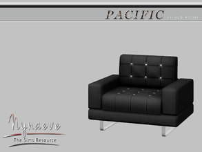Sims 3 — Pacific Heights Living Chair by NynaeveDesign — Pacific Heights Living Room - Living Chair Located in: Comfort -