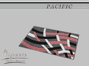 Sims 3 — Pacific Heights Living Rug by NynaeveDesign — Pacific Heights Living Room - Rug Located in: Decor - Rugs Price: