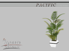 Sims 3 — Pacific Heights Potted Plant by NynaeveDesign — Pacific Heights Potted Plant Pacific Heights Living Room -