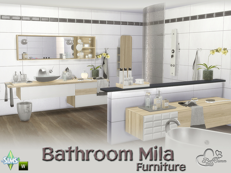 Buffsumm S Bathroom Mila