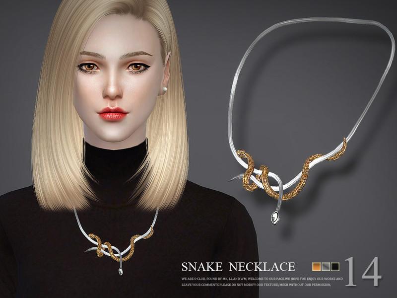 S-Club LL ts4 necklace N14