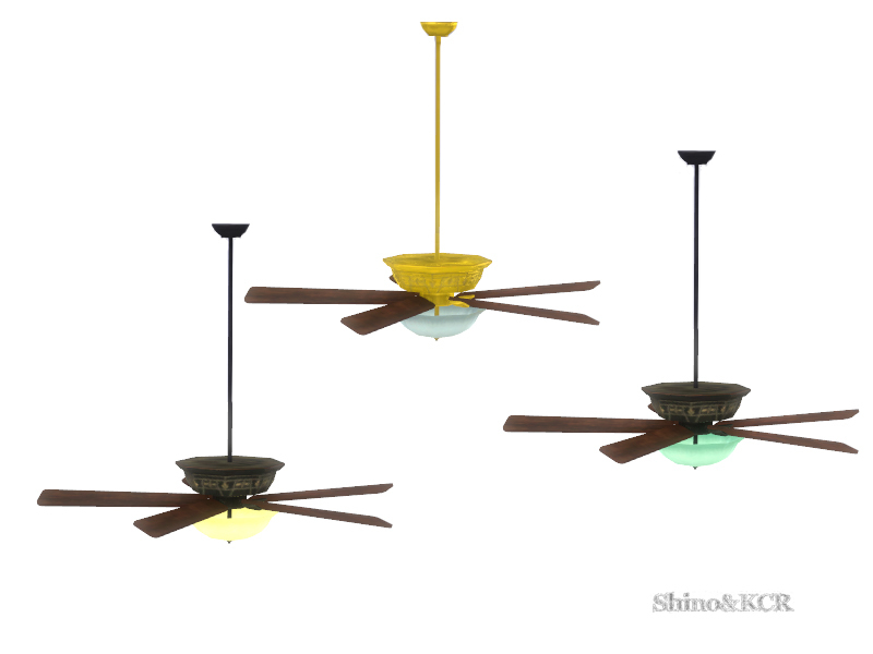Shinokcr S French Quarter Ceiling Fan W1