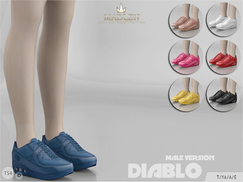 mj95 s madlen diablo sneakers