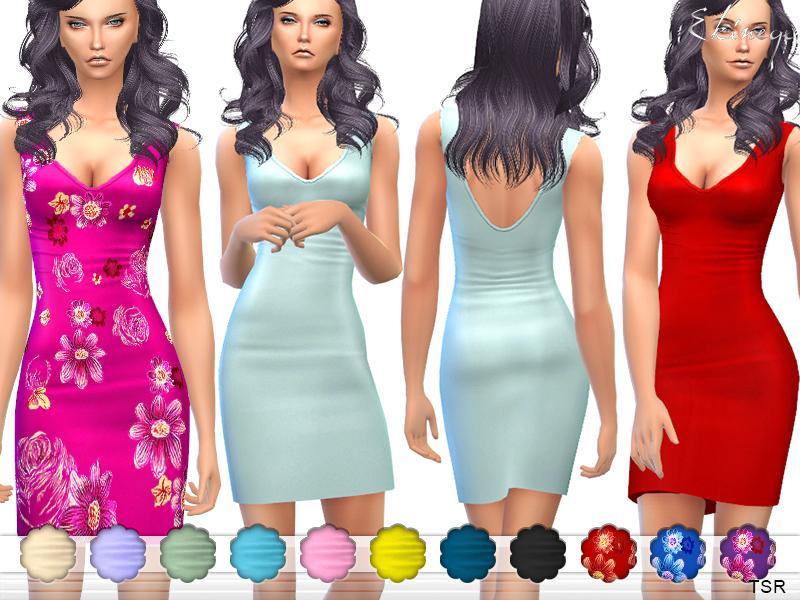 8827b492c3f7 ekinege s Plunge Neck Bodycon Mini Dress