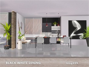 5 Creationsung999 / Downloads / Sims 3 / Sets / Objects / Dining Room