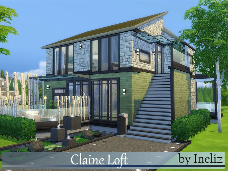 Ineliz 39 s claine loft for Pool design sims 3