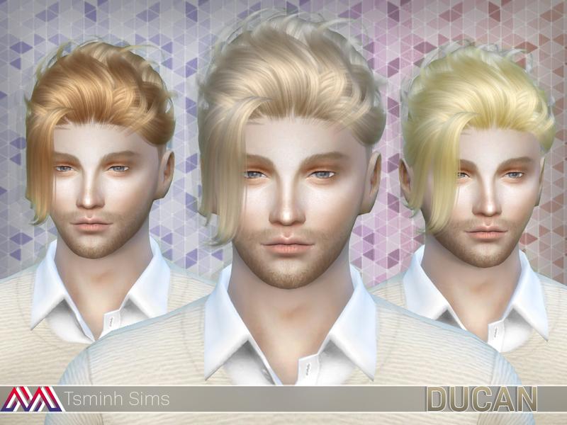 Hair Photos Boy Download: TsminhSims' Ducan (Hair 15