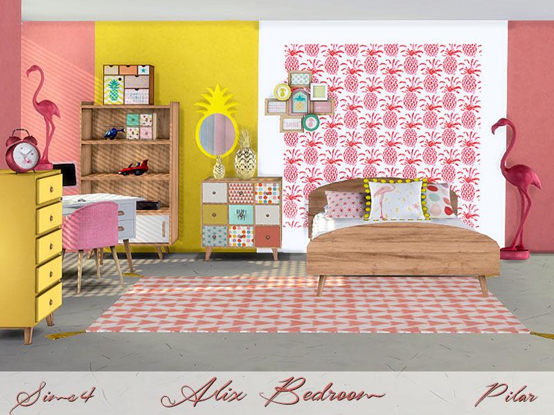 Pilar\'s Alix Bedroom