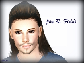 Sims 3 — Jay R. Fields by jessesue2 — Jay R. Fields is a very charismatic, intelligent sim that could easily slide into