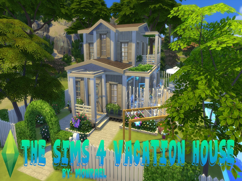 The Sims 4 Vacation House