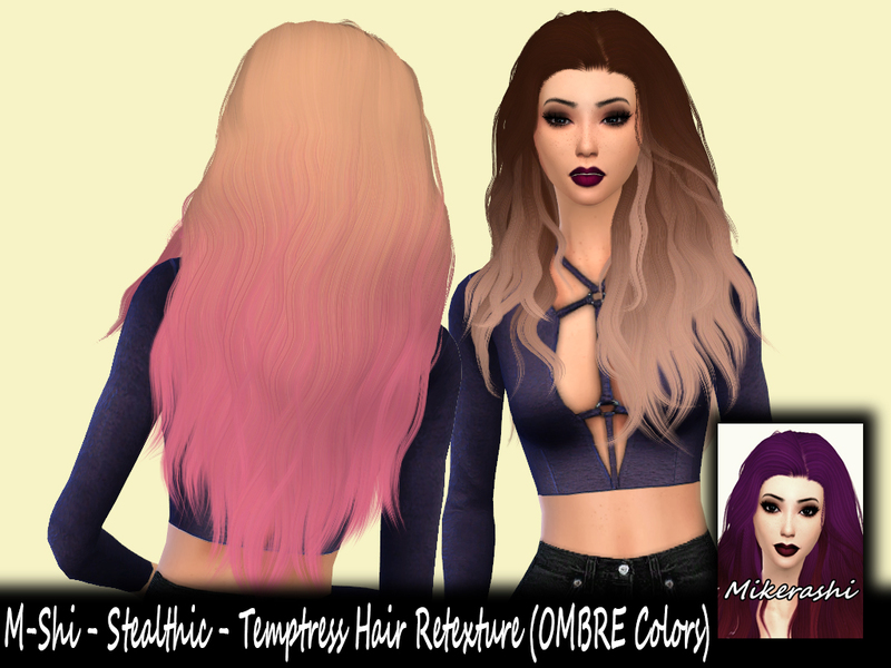 Mikerashis Ombre M Shi Stealthic Temptress Retexture Mesh Needed