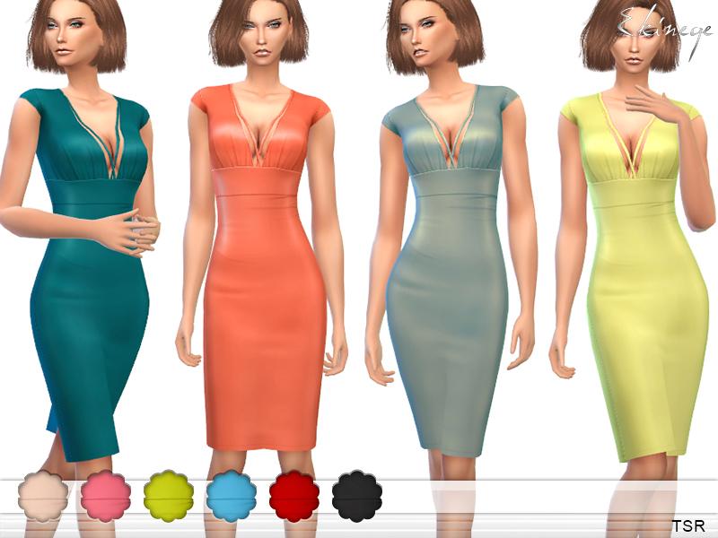 ekinege's Cap Sleeve Harness Dress