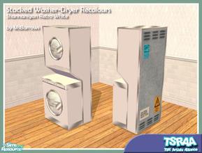 Retro White Washer Dryer Recolour