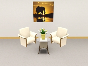 Sims 3 — African elephant by Andreja157 — ~made in TSRW from EA mesh (ITF poster)