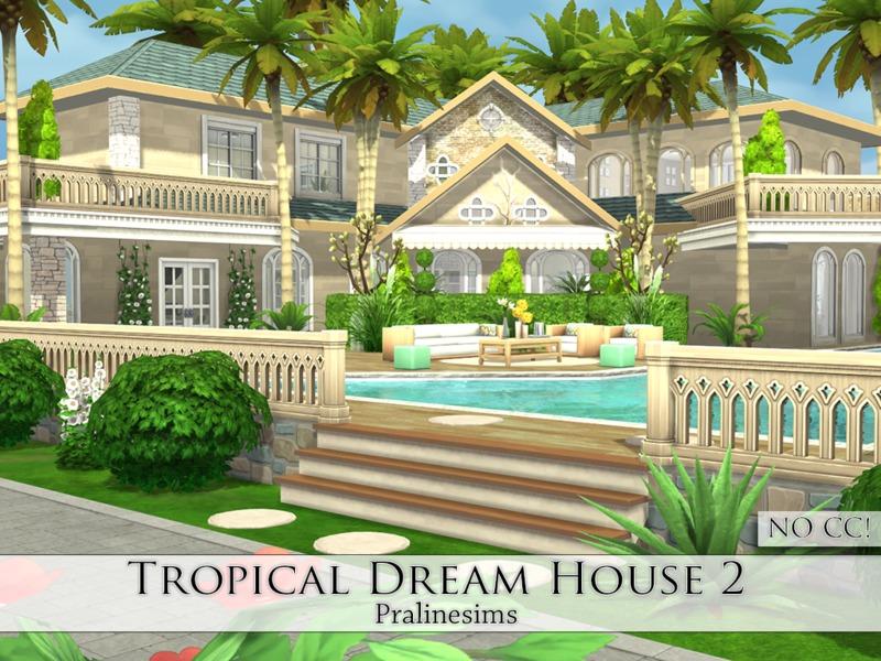 Pralinesims\' Tropical Dream House 2