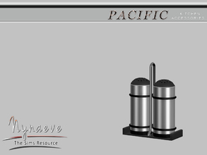 Sims 3 — Pacific Heights Salt and Pepper by NynaeveDesign — Pacific Heights Kitchen Accessories - Salt and Pepper Located