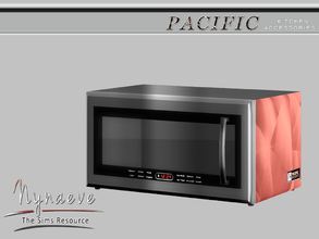 Sims 3 — Pacific Heights Coffee Maker by NynaeveDesign — Pacific Heights Kitchen Accessories - Microwave Located in:
