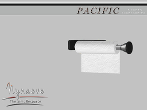 Sims 3 — Pacific Heights Paper Towel by NynaeveDesign — Pacific Heights Kitchen Accessories - Paper Towel Located in: