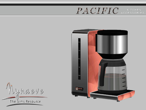 Sims 3 — Pacific Heights Coffee Maker by NynaeveDesign — Pacific Heights Kitchen Accessories - Coffee Maker Located in: