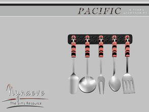 Sims 3 — Pacific Heights Kithen Utensils by NynaeveDesign — Pacific Heights Kitchen Accessories - Kitchen Utensils
