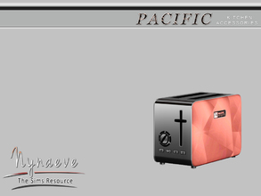 Sims 3 — Pacific Heights Toaster by NynaeveDesign — Pacific Heights Kitchen Accessories - Toaster Located in: Decor -