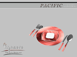 Sims 3 — Pacific Heights Tableware by NynaeveDesign — Pacific Heights Tableware Pacific Heights Kitchen Accessories -