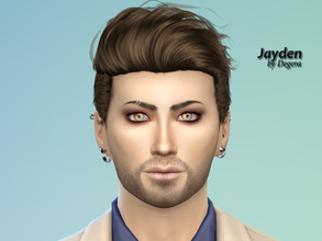 Sims 4 — Jayden by Degera — He's too smart for his own good, a genius at making money, ambitious and self-assured. He
