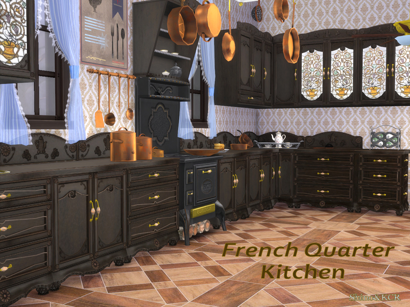 Shinokcr 39 s french quarter kitchen for Decor quarters