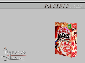 Sims 3 — Pacific Heights Cereal Box by NynaeveDesign — Pacific Heights Kitchen Accessories - Cereal Box Located in: Decor