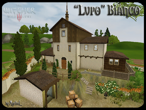 Sims 3 — Lupo Bianco (Unfurnished) by murfeel — This vineyard has changed hands many times during its history. Most