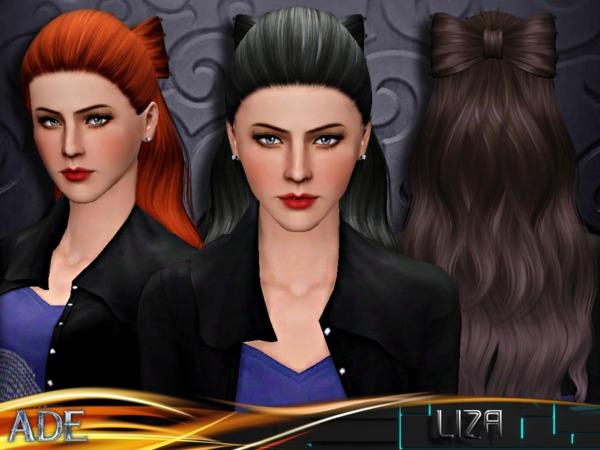 Sims 3 Hair Bow: Sketchbookpixels Zelda Hair Bow