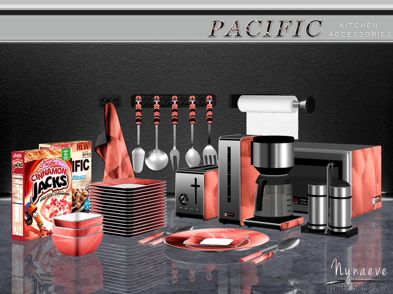 Pacific Heights Kitchen Accessories