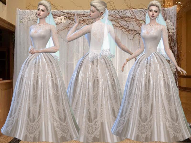 Ivory Wedding Gowns: TrudieOpp's Ivory Wedding Dress