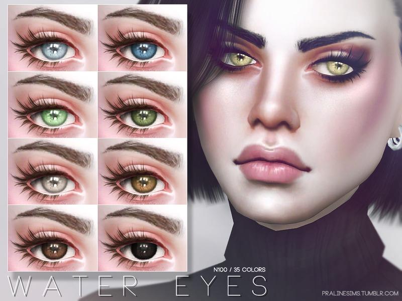Pralinesims Water Eyes N100
