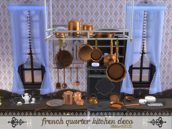 Shinokcr 39 s french quarter kitchen deco for Decor quarters