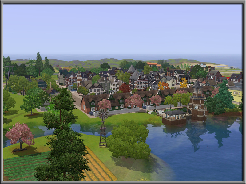 sims 3 populated worlds download