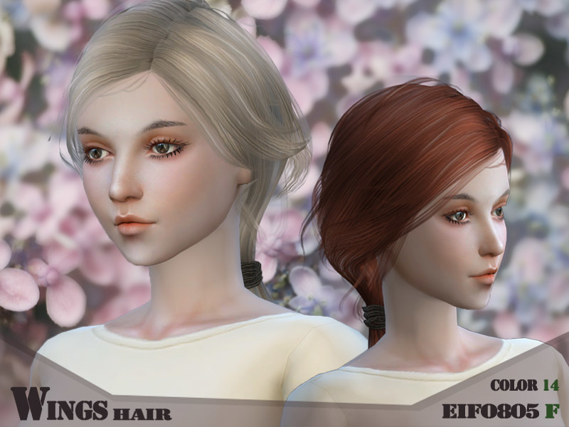 wingssims' Wings hair sims4 F EIFO805