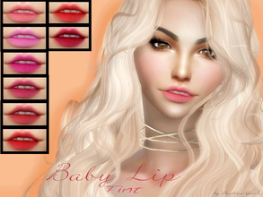 Sims 4 — Baby Lip Tint with Teeth by Baarbiie-GiirL — new super matte lipstick with teeth for your sims ^,^! - works with