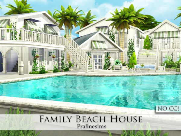 Pralinesims 39 family beach house for Beach house 3 free download